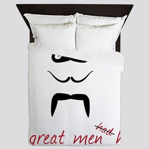 All Great Men Queen Duvet